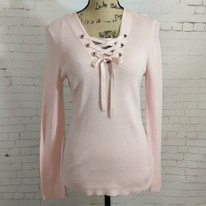MICHAEL MICHAEL KORS Pink Blossom Sweater